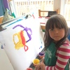 Painting is a favourite learning space