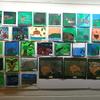 Native habitats artwork at Mahara gallery
