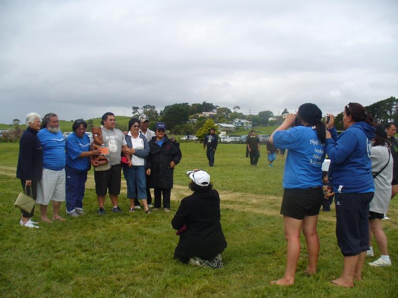 Overall Winners - 1st equal = Ngati Mahuta and Rakaunui/Mokoroa combined