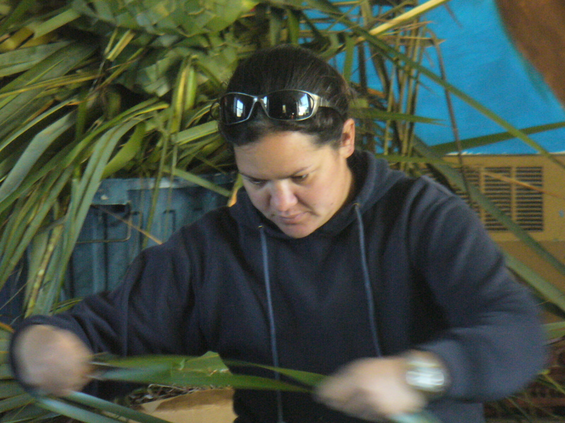 Whaea Lisa - Preparing Kono