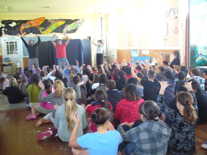 Duffy Theatre held at Kawhia School