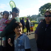 Mihi, Lisa Panapa (birthday girl), Hikurangi and Karen Bishop