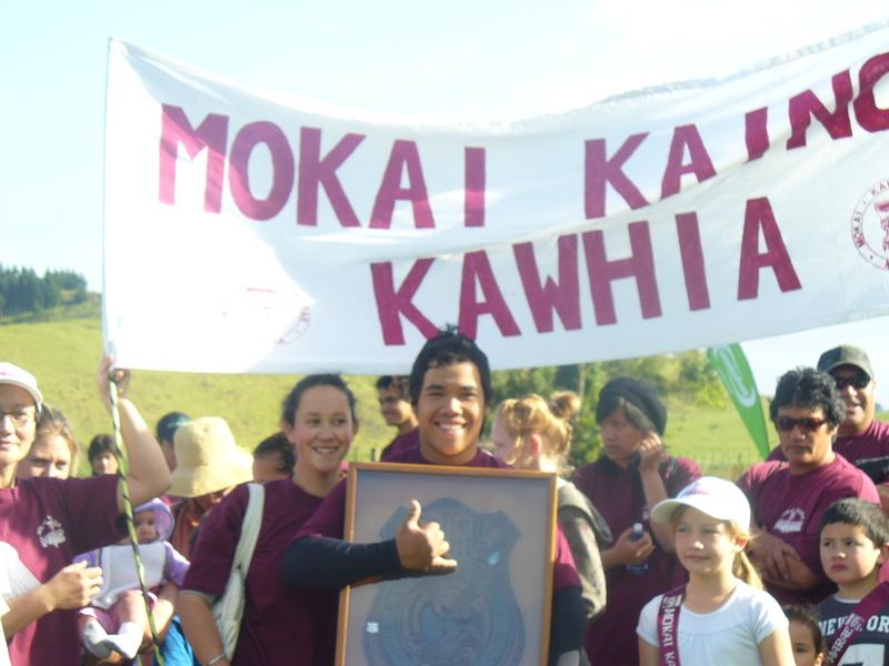 Kylie and Pere - Mokai Kainga Marae