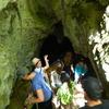 Heading in to Rua Kuri Cave