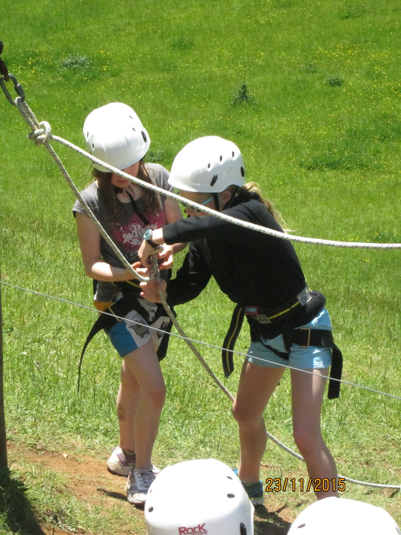Learning to abseil safely