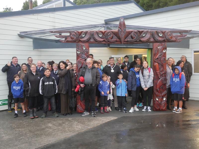 Postgate School Waharoa Unveiling   15