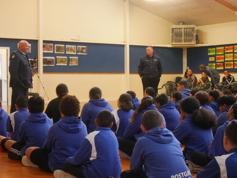 Postgate School Waharoa Unveiling   16