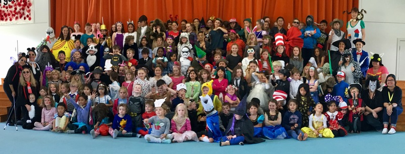 Book Week assembly photo