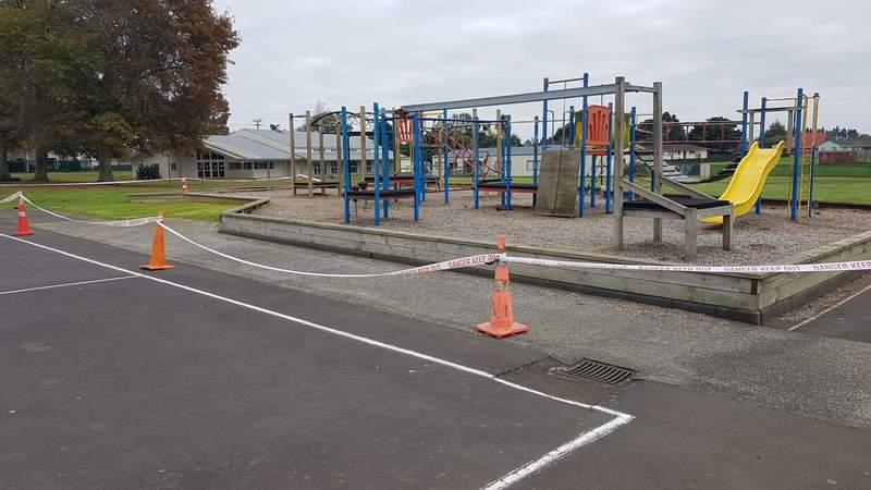 Playground Lock down