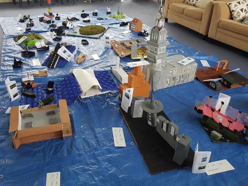 Room 1 Models of Auckland Landmarks