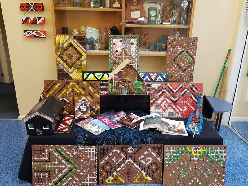 Kura Rumaki - Maori Language Week Display