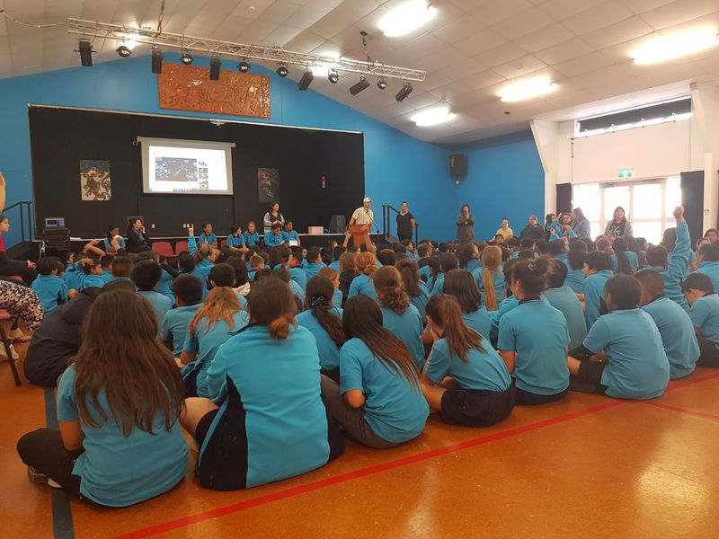 Duffy Role Model Assembly - Rugby League Star Jarney Howard-Proctor