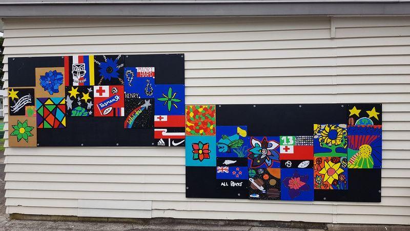 Artworks representing Maori and Pasifika Cultures