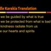 Thumbnail: Middle Karakia