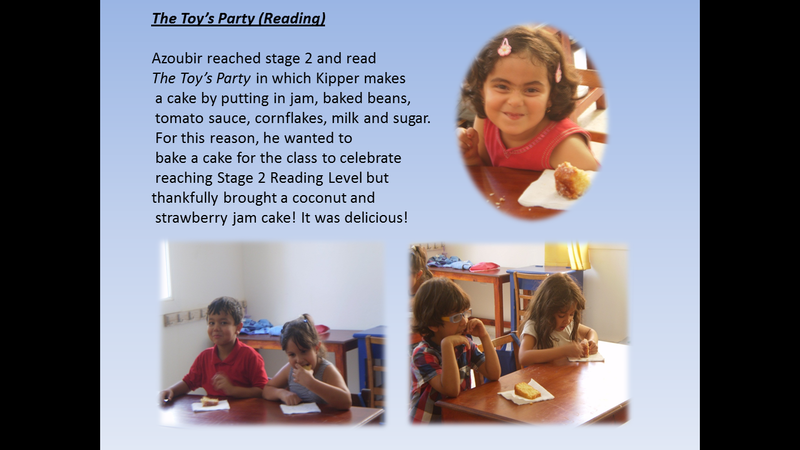 The Toy's Party Reading