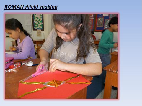 Roman Shield Making
