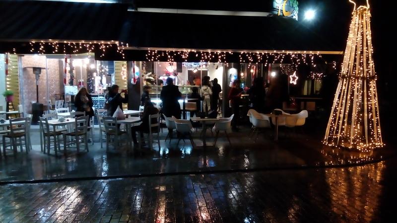 A rainy evening in Olympia