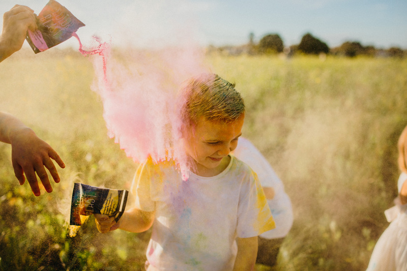 Arlo's colour run