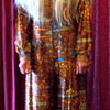 1970's All In One Trouser Suit & Wig