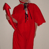 Devil Outfit Size 5-6yrs